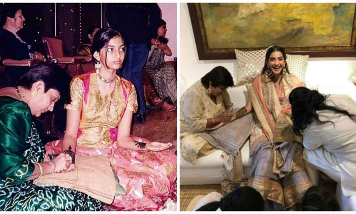 Sonam Kapoor's pictures from mehendi ceremony