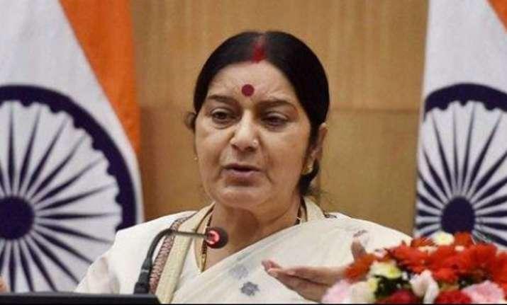 External Affairs Minister Sushma Swarajon Tuesday