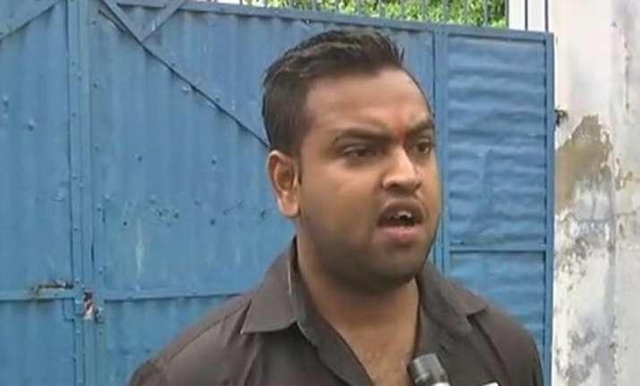 Abhishek Gupta had earlier alleged that a senior Uttar