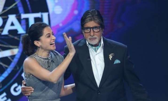 Taapsee Pannu: Have a powerful role in Amitabh Bachchan