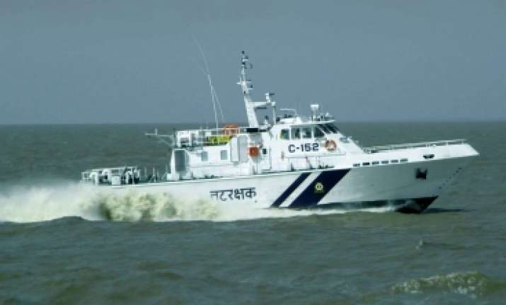 A search involving ships of the Navy and Coast Guard was