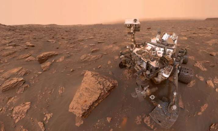 NASA's Curiosity rover takes stunning selfie during massive