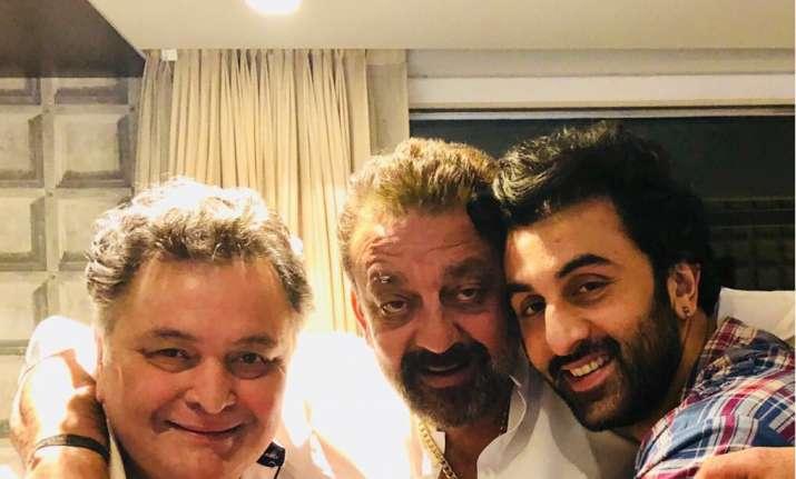 Ranbir Kapoor, Rishi Kapoor, Sanjay Dutt
