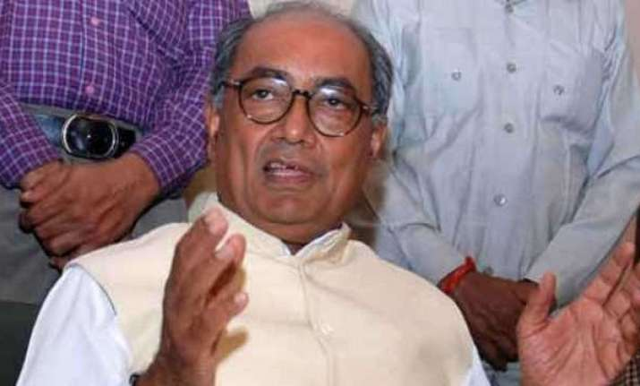 Digvijay Singh's remark on 'Hindu terror' draws flake (File