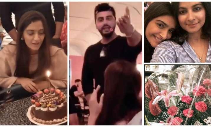 Sonam Kapoor's birthday pictures