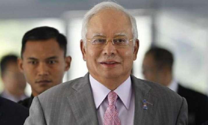 Ex-Malaysian PM Najib Razak