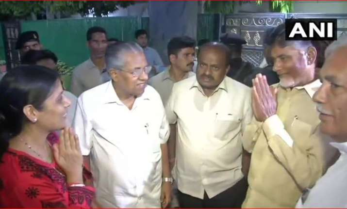 Four CMs of non-BJP ruled states at Kejriwal's residence
