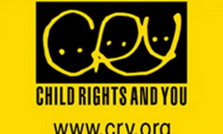 CRY- Child Rights and You logo