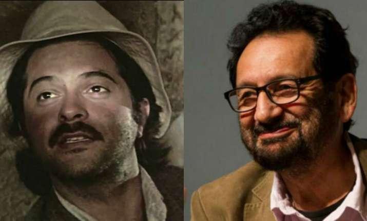 Anil Kapoor and Shekhar Kapoor