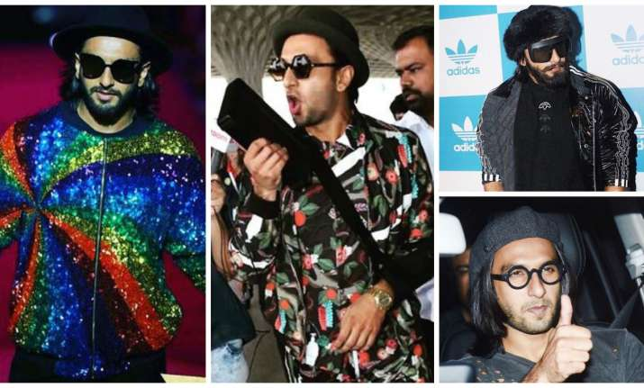 Ranveer Singh's fashion game