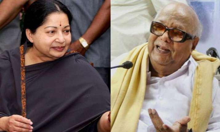 Jayalalitha and Karunanidhi