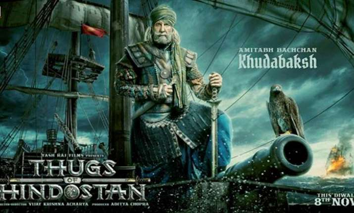 Image result for thugs of hindostan poster