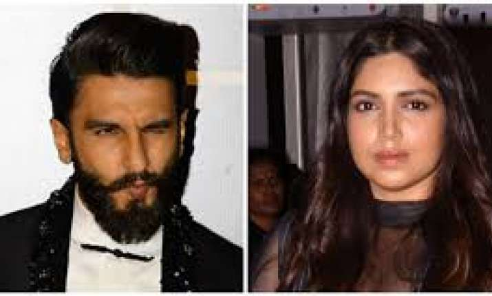 When Bhumi Pednekar got intimidated by Ranveer Singh