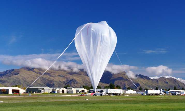 Image result for NASA's Balloon Mission observes electric Blue clouds