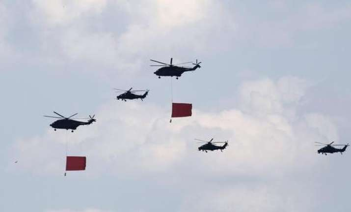 Chinese choppers violate Indian airspace near Ladakh border