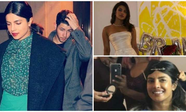 b9a7fff731 Pictures of Priyanka Chopra's bridal shower and date night with Nick ...
