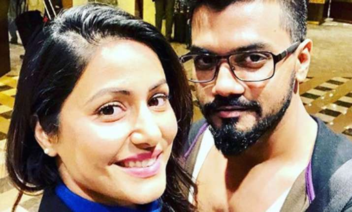 Pic: Hina Khan's beloved Rocky Jaiswal lauds her for successful tour in a industry