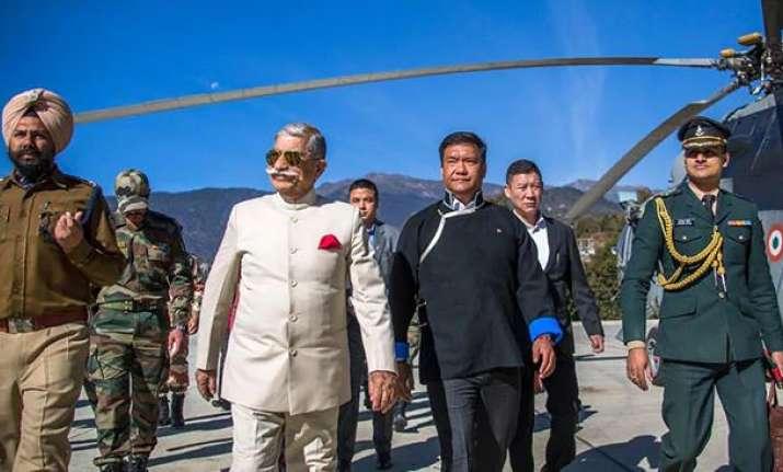 Arunachal Governor BD Mishra