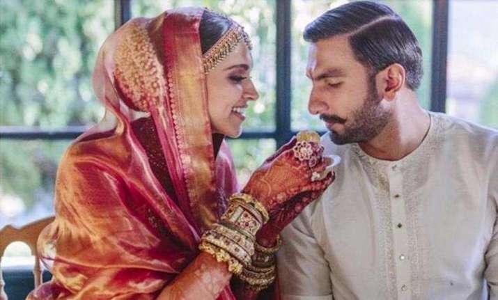 b33201e526 Representative News Image Image Source : INSTAGRAM. DeepVeer Wedding: Not  Sabysachi creation, Deepika's Konkani wedding saree ...