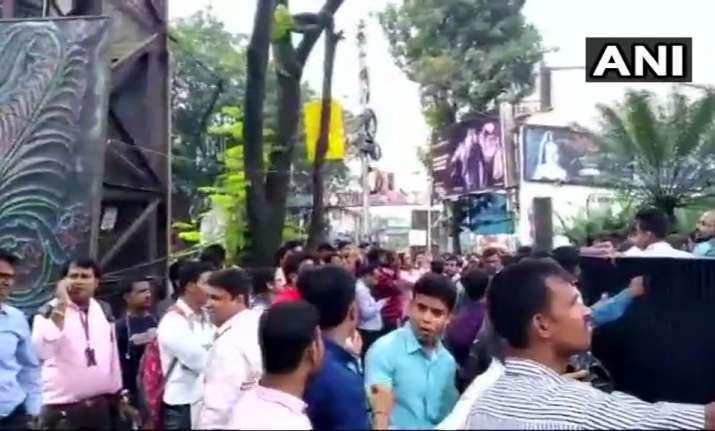 Kolkata fire latest updates: Blaze reported at high-rise on