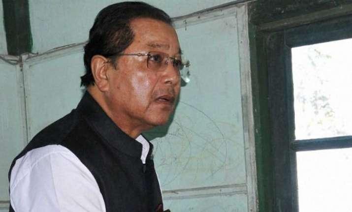 Mizoram CM Lal Thanhawla