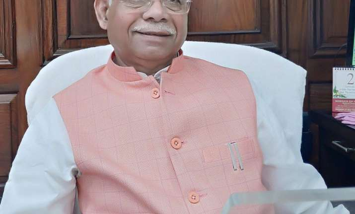 Union Minister of State for Finance Shiv Pratap Shukla
