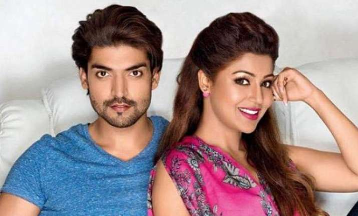 TV couple Debina Bonnerjee , Gurmeet  Choudhary to