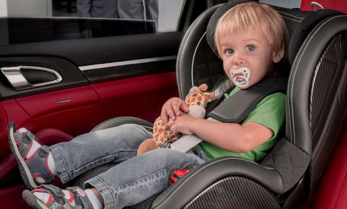 Toxic flame retardants in kid's car seats may cause harm,