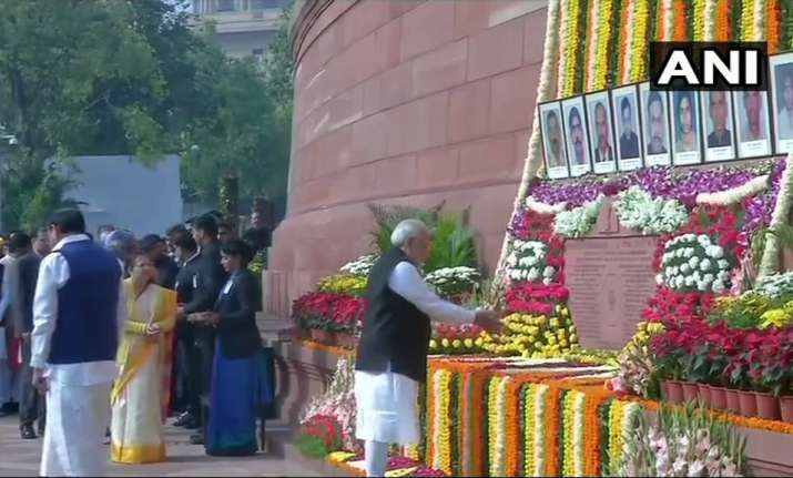 PM Modi salutes valour of martyred, says 'their courage and