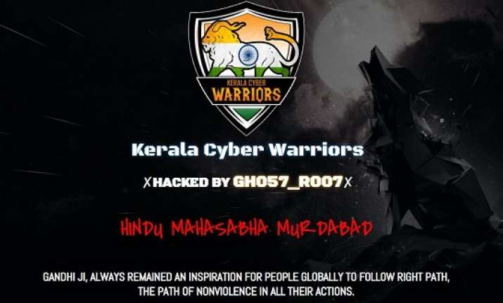 Hindu Mahasabha website hacked over recreation of Mahatma