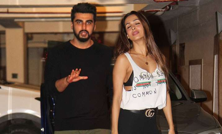 Image result for arjun kapoor with mlaika with out shirt