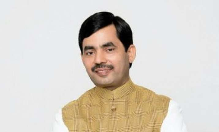 BJP national spokesperson Syed Shahnawaz Hussain