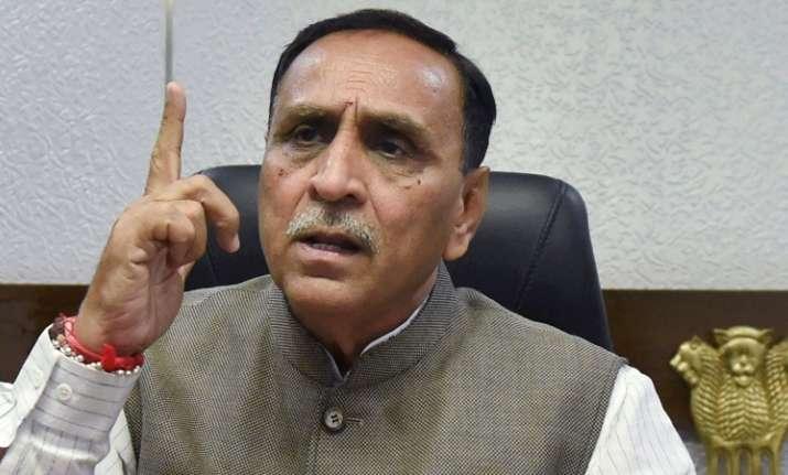 Gujarat Chief Minister Vijay Rupani