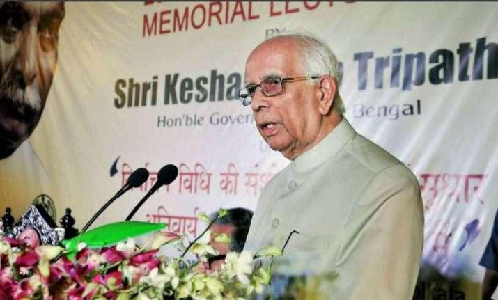 West Bengal Governor K N Tripathi