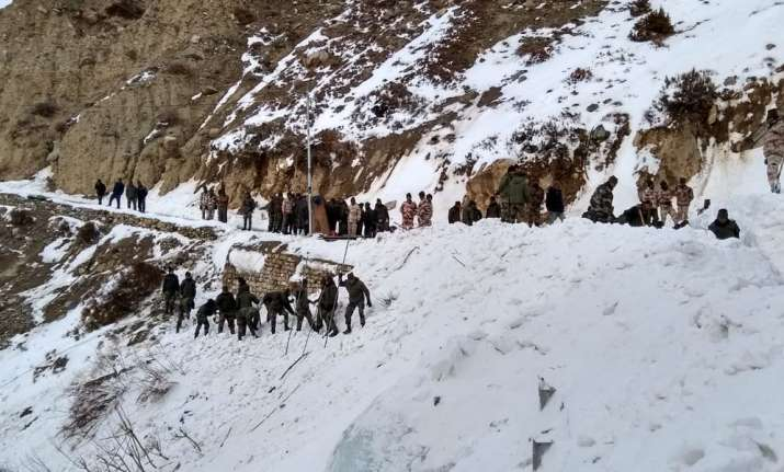 Avalanche hits Army in Himachal: 6 jawans feared dead,