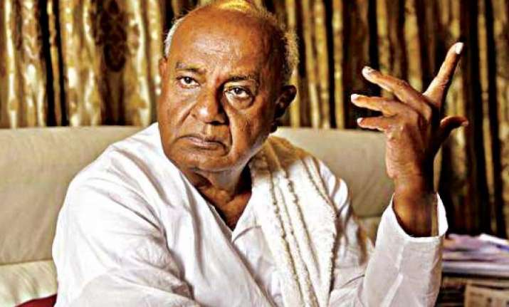 Former PM HD Deve Gowda hints at not contesting Lok Sabha