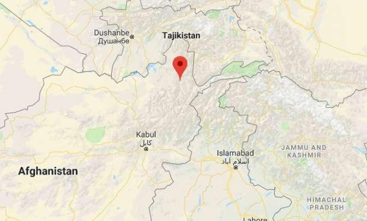 Earthquake in Jarm, Afghanistan