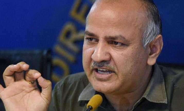 Delhi Finance Minister Manish Sisodia