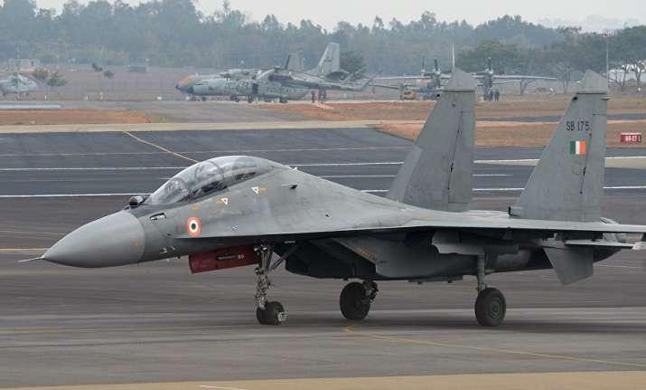 IAF's Sukhoi 30MKI shoots down Pakistani drone near
