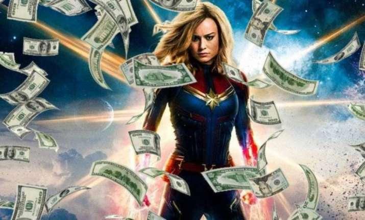 Captain Marvel Takes Flight With Usd 455 Million In Worldwide Gross