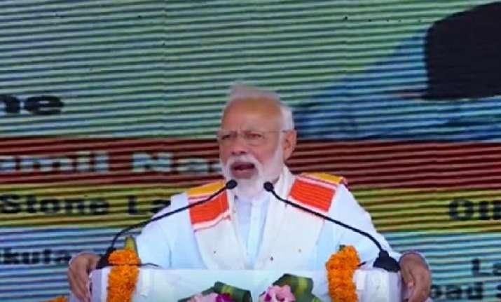 PM Modi addresses rally in Kanyakumari