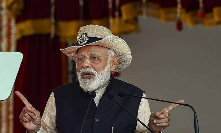 Prime Minister Narendra Modi addresses the CISF's 50th