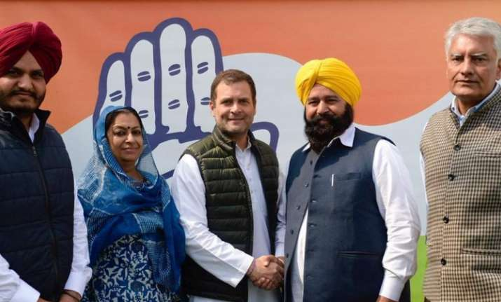 Ferozepur MP Sher Singh Ghubaya joins Indian National