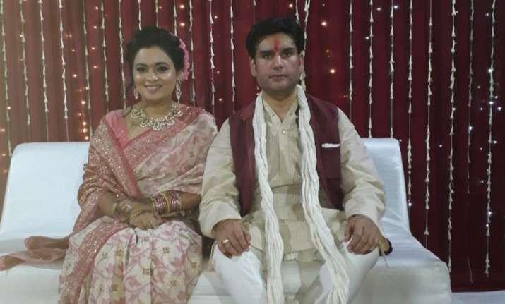 ND Tiwari's son Rohit Shekhar Tiwari had got engaged