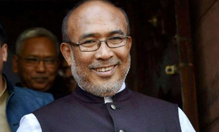 Manipur CM did not jump queue to vote: CM's office