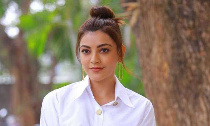 This video of Kajal Aggarwal performing fire acrobats is