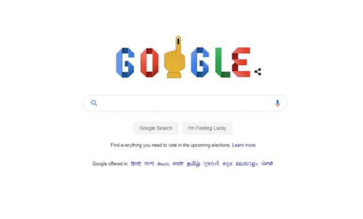 Google Doodle celebrates Lok Sabha elections, features