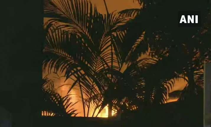 Fire broke out in Mumbai