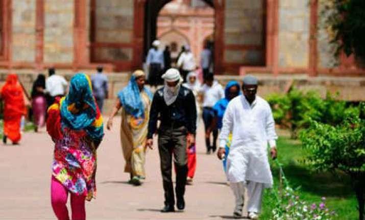 At scorching 43.7 degrees Celsius, Delhi records season's