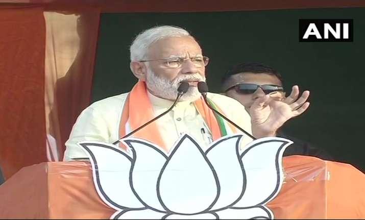 PM Modi in West Bengal